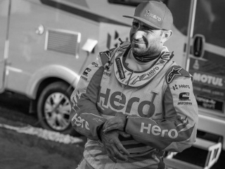 Dakar stage 8 in offset of motorcycles cancelled in memory of the deceased racer Gonçalves