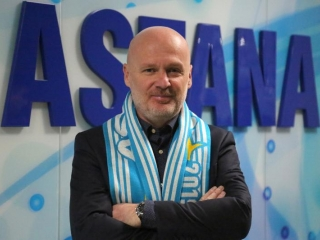 FC Astana names new head coach