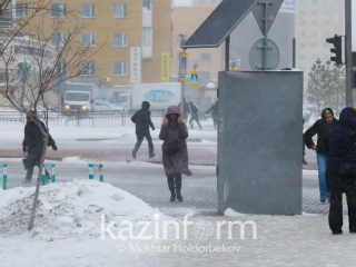 Snowstorm to persist in Kazakhstan Jan 18