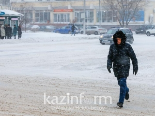Kazakhstan weather forecast for Jan 19