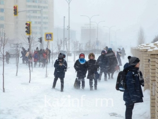 Classes cancelled in Kazakh capital due to bad weather