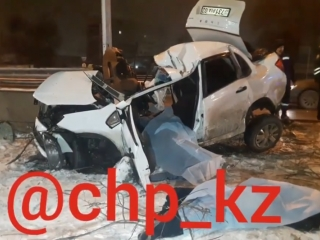 Two died in road tragedy in Almaty
