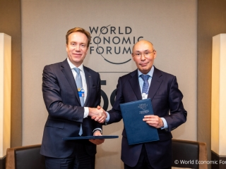 Kazakhstan Government, AIFC and WEF sign  Letter of Intent