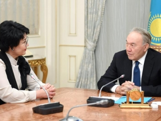 Nazarbayev meets with Kazakhstani renowned pianist