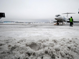 Snowstorms delay all flights at Nursultan Nazarbayev Airport