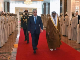 Kazakh President arrives in the UAE