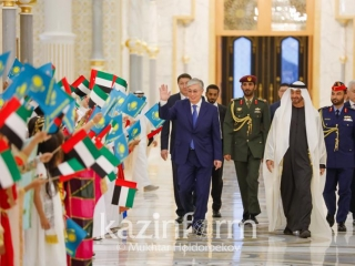 Kazakh President and Crown Prince of Abu Dhabi hold talks