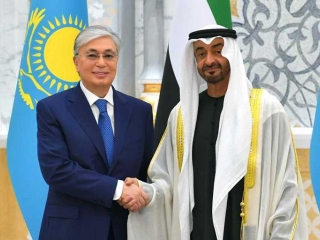 President Tokayev holds bilateral talks with Crown Prince of Abu Dhabi
