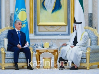 Kazakhstan, UAE ink documents in Abu Dhabi