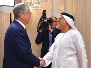 Tokayev meets with Chairman of Al Nowais Investments