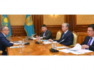 Galymzhan Pirmatov reports to President on Kazatomprom's activity in 2019