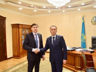 Kostanay region's Governor, KazakhExport CEO meet