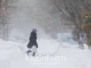 Frosts and snowstorms heading towards N Kazakhstan