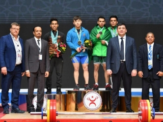 Kazakhstan pockets first gold at int'l solidarity championships