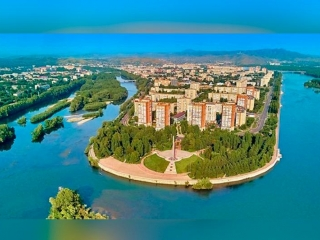 EBRD Green Cities, East Kazakhstan leadership act to transform two cities