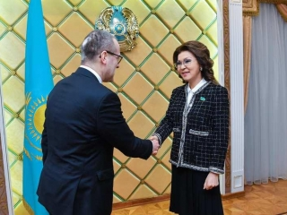 Kazakh Senate Speaker, WHO reps debate healthcare issues