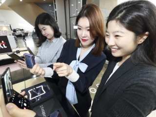 Samsung's vertically-folding smartphone goes on sale in S. Korea