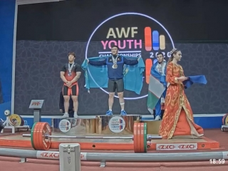 Kazakhstan wins gold at AWF Youth Championships