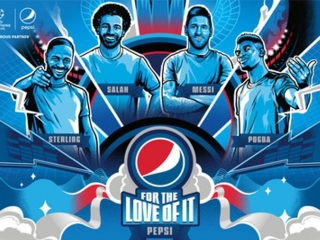 Messi, Salah, Pogba and Sterling showcase world-class skills in the New Pepsi campaign