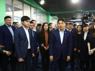 Nur Otan Party 1st deputy chairman arrives in Turkestan region