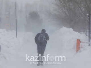 Strong wind and fog to batter N Kazakhstan