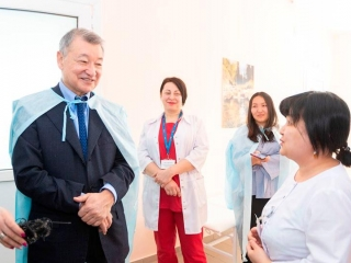 New cardiology center under construction in E Kazakhstan rgn