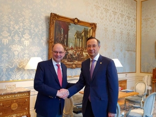 Kazakh Ambassador met with State Secretary of Foreign Affairs Ministry of Sweden