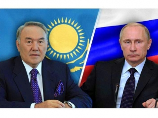 Nursultan Nazarbayev, Vladimir Putin had telephone talk