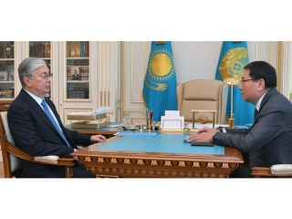 President receives Chairman of National Bank