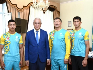 Zhambyl athletes secure two Olympic licenses