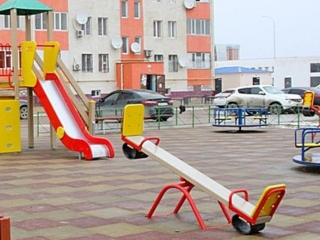 Almaty to disinfect playgrounds