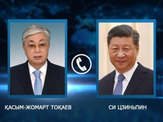 Kazakh President holds telephone conversation with Head of People's Republic of China Xi Jinping