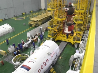 Baikonur prepares for Soyuz-2.1a carrier rocket launch