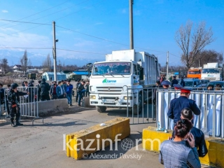 Atyrau restricts entry and exit