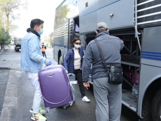 135 Kazakhstanis, arrived from the UAE in Almaty region, return home