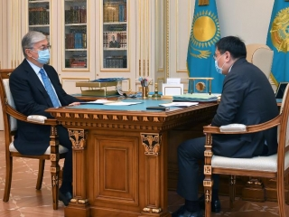 Head of State receives National Bank chairman