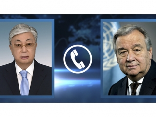 UNSG invites Kazakh President to join event devoted to development amid COVID-19 pandemic