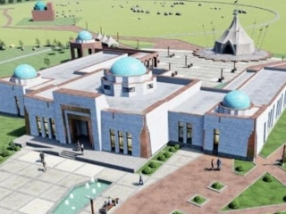 Construction of Zhoshy khan historical and cultural centre in Ulytau to complete