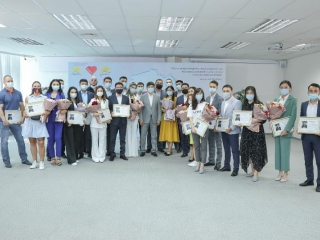 Kazakhstani volunteers awarded on behalf of Nursultan Nazarbayev