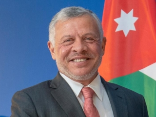 The King of Jordan wished Elbasy speedy recovery
