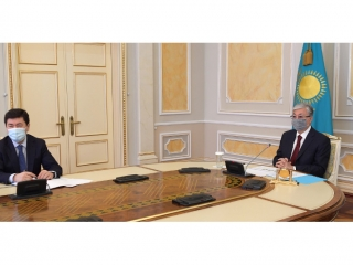 National Bank Chairman reports to Kazakh President