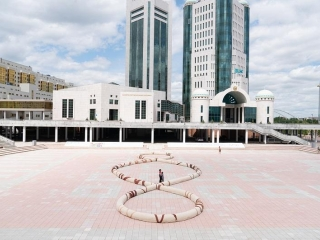 Third Paradise – symbolic art for solidarity in global fight against COVID-19 presented in Kazakhstan