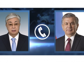 President Tokayev congratulates Uzbek counterpart on his birthday