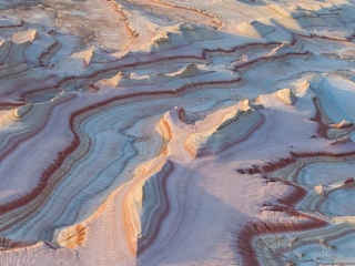 'I felt lucky to have this rare glimpse into a place that few have ever seen from above', NatGeo photographer about Mangistau basin