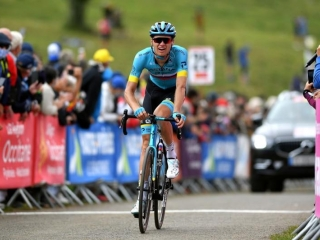 Astana's Vlasov takes solid 3rd place in La Route D'Occitanie Stage 3