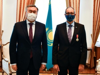 Swiss Ambassador completes diplomatic mission in Kazakhstan