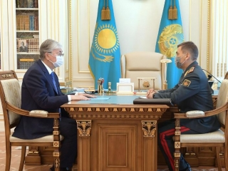 Defense Minister reports to President on Concept of Kazakh Armed Forces development