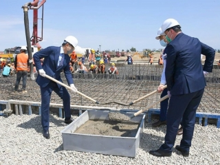 Almaty begins construction of modular hospital to treat COVID-19 patients