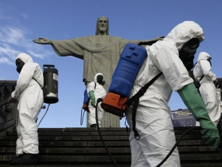 Christ the Redeemer to undergo disinfection before reopening