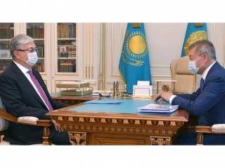 Head of State receives Governor of East Kazakhstan rgn